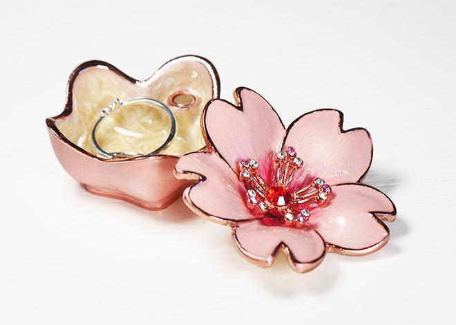 桜 ジュエリーボックス