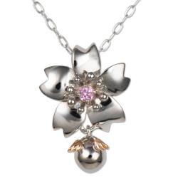桜 10金 ネックレス