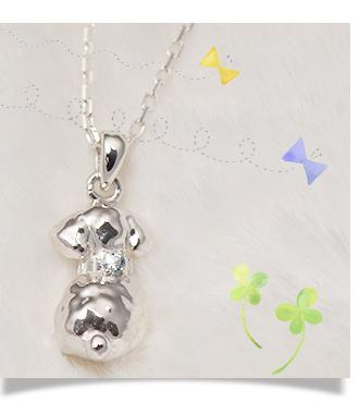 トイプードル 犬 ネックレス