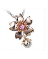 桜 ネックレス